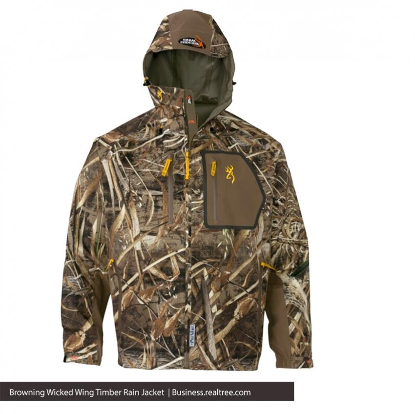 Browning Wicked Wing Timber Rain Jacket | Realtree B2B