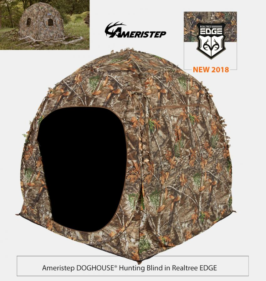 Ameristep Doghouse Hunting Blind in Realtree EDGE