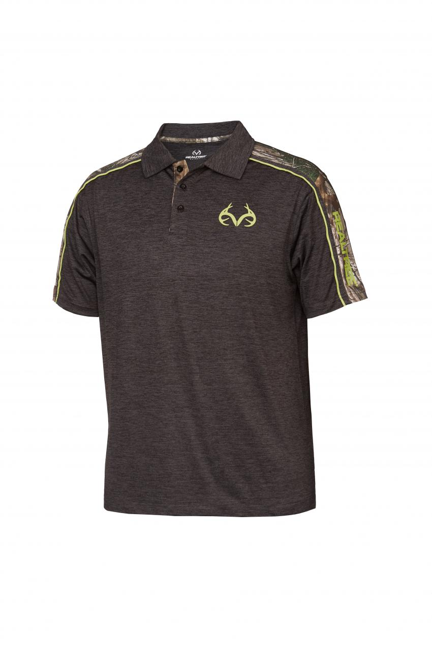 Realtree men's Activewear arrowhead polo | Realtree B2B