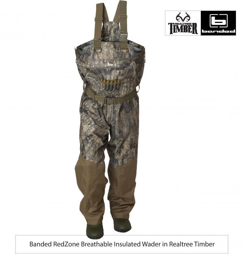 Banded Features Realtree S New Timber Waterfowl Pattern