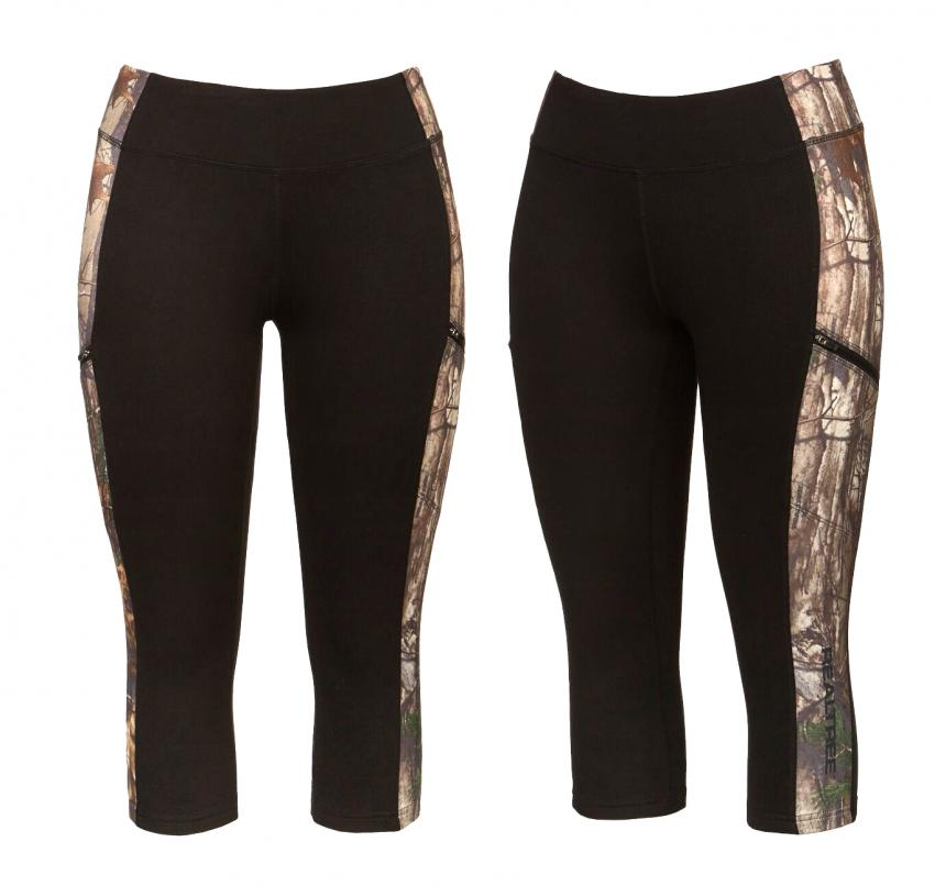 Realtree women's Activewear Black Camo Carpi | Realtree B2B