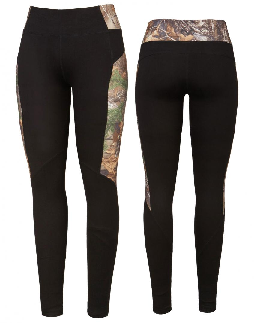 Realtree women's Activewear Black Camo pants | Realtree B2B
