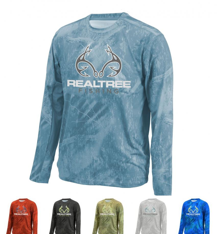 Realtree Fishing Performance Apparel 2018 By Colosseum