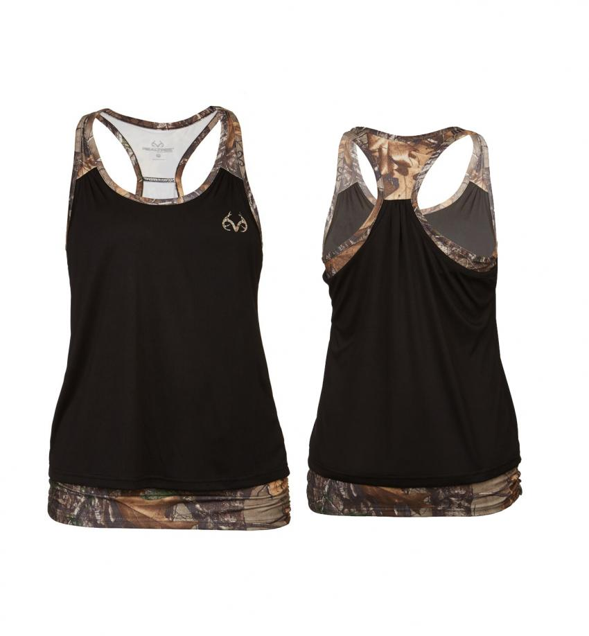 Realtree women's Activewear Camo Tank | Realtree B2B