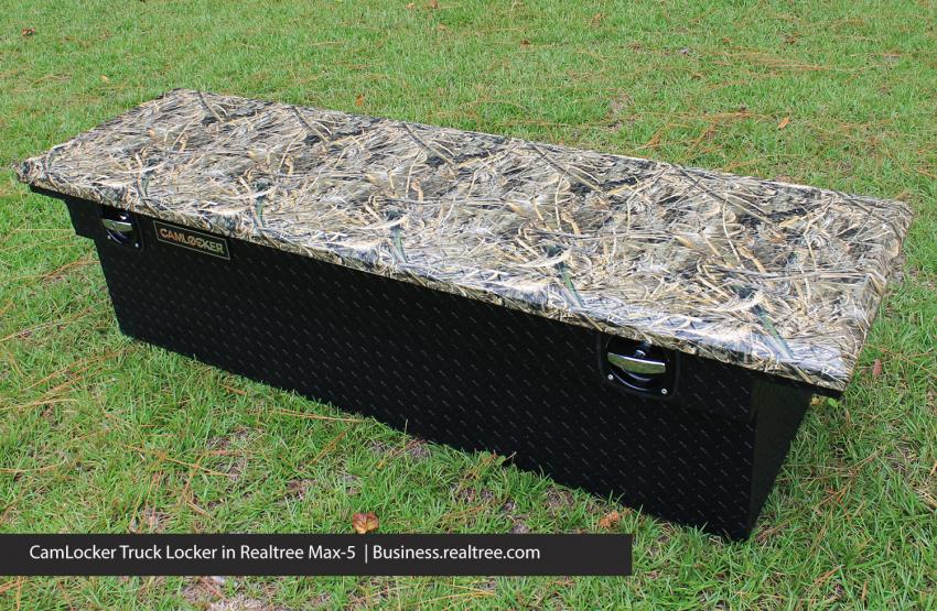 New Realtree Cam-Locker truck bed toolboxes | Realtree B2B
