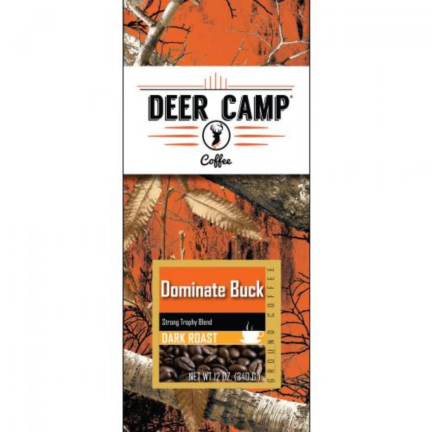 Realtree ground coffee by deer camp coffee - Dominate Buck