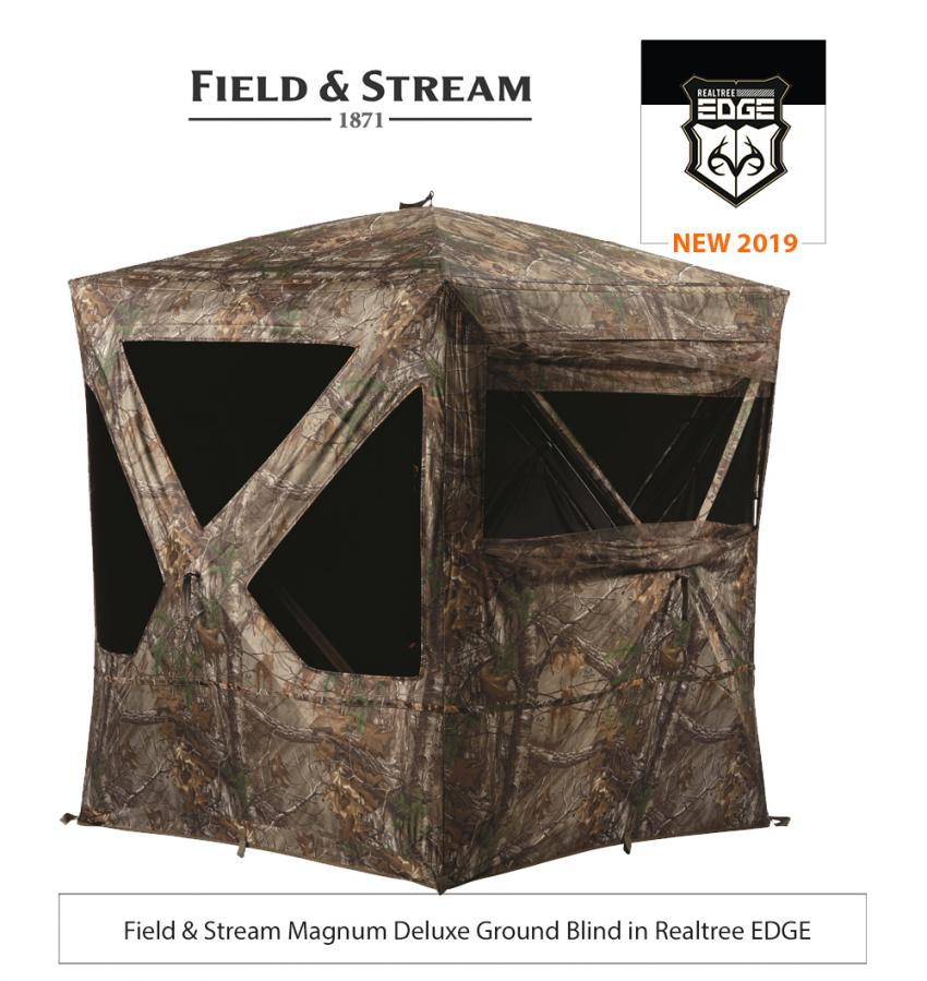 Field & Stream Magnum Deluxe Ground Blind in Realtree EDGE
