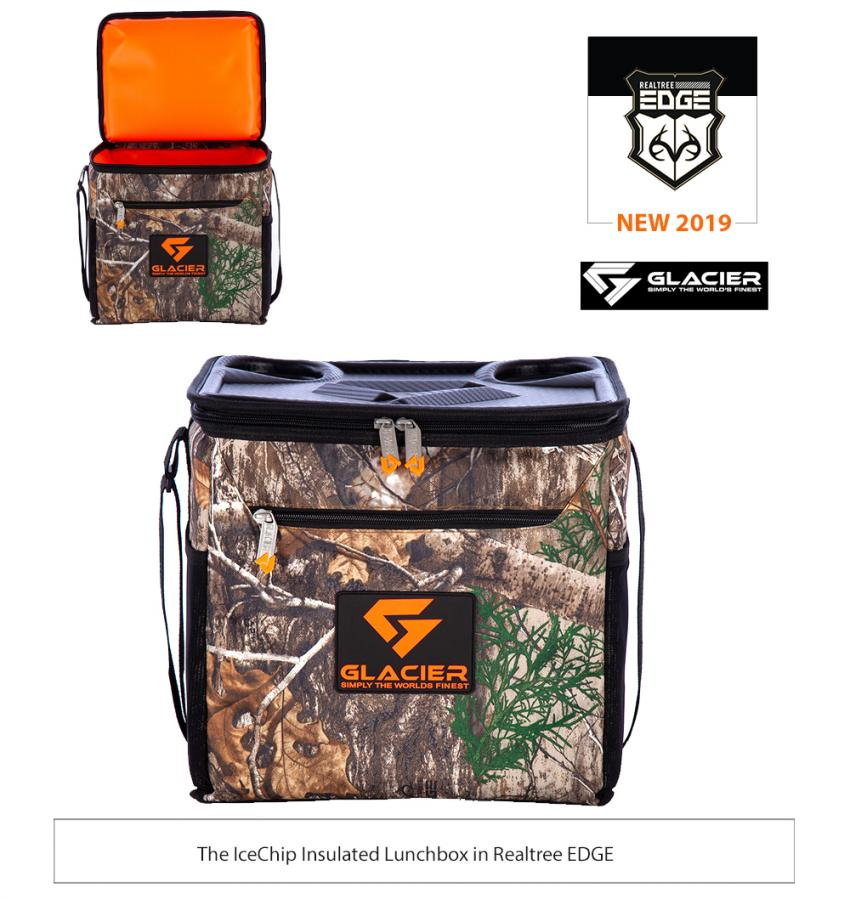 Glacier Cooler Realtree EDGE 2019 - Realtree IceChip Lunchbox Cooler - 15qt.