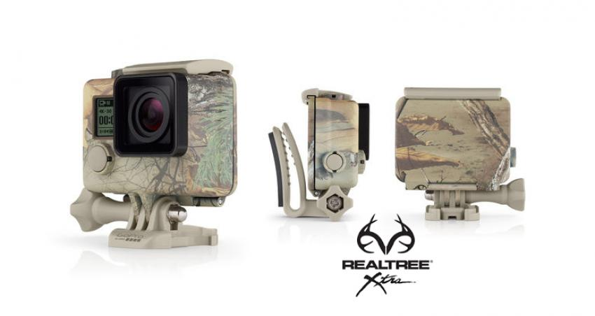 GoPro Realtree Xtra Camo Housing + Quick Clips