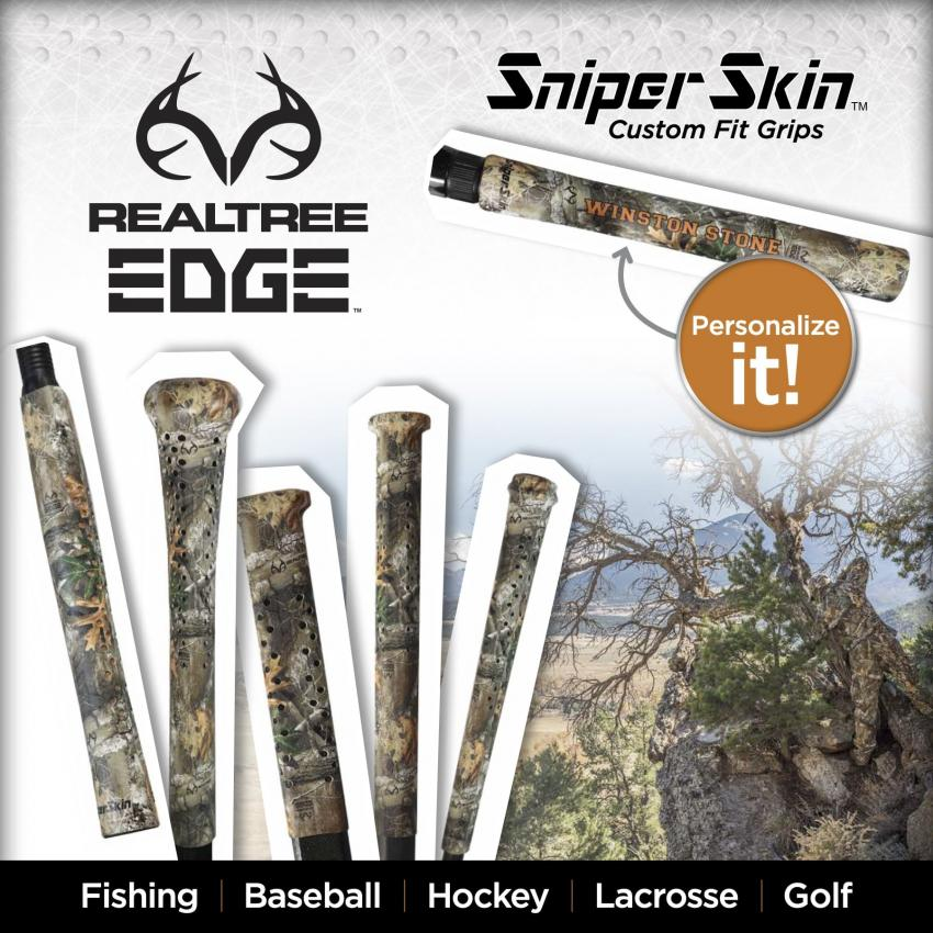 Sniper Skin Wraps with Realtree EDGE