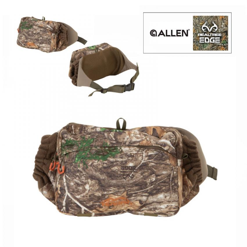 Terrain™ Tundra Waist Pack with Handwarmer by Allen®, Olive and Realtree® Edge™ camo