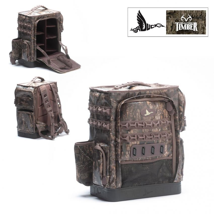 Dr. Duck Realtree Timber Hunt Locker Weather Proof Backpack