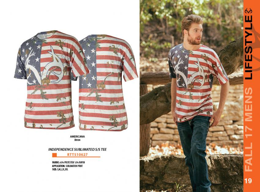 Realtree independence Tee | Realtree Activewear 2017