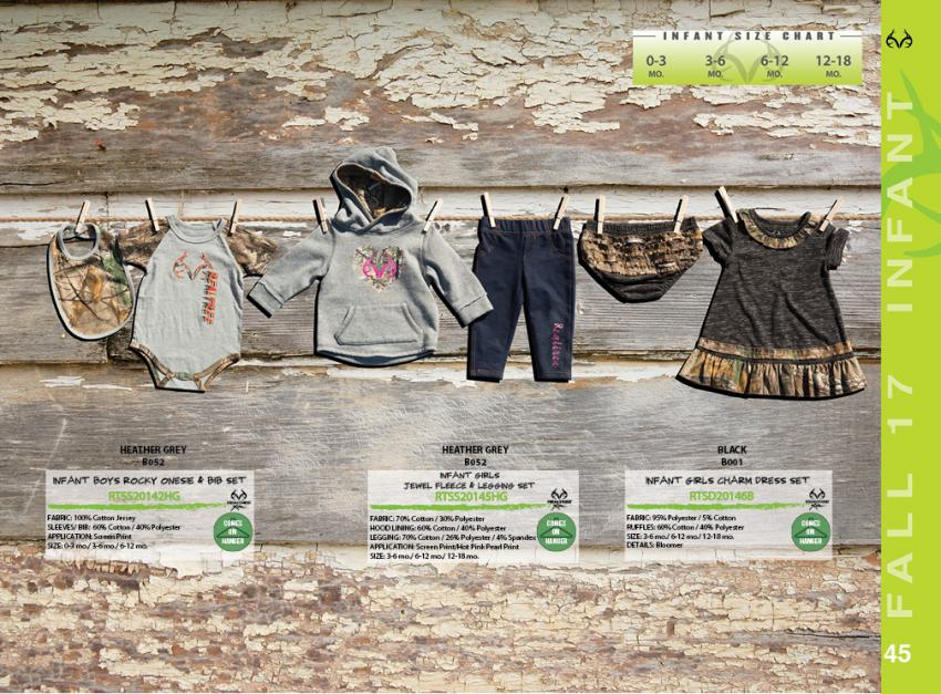 Realtree Infant Apparel Collection Fall 2017 | Realtree B2B