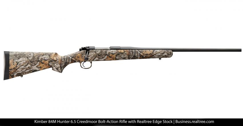 Kimber Hunter Rifle 6.5 Creedmoor Now in Realtree EDGE | Realtree B2B