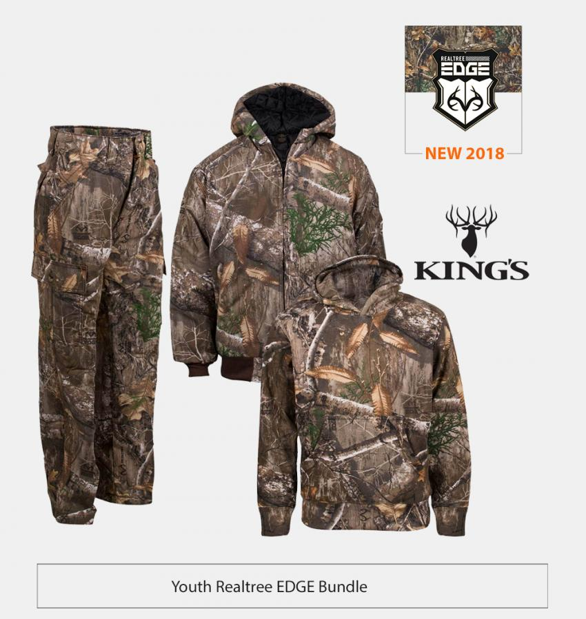 King's Camo Youth Bundle in Realtree EDGE | Realtree EDGE