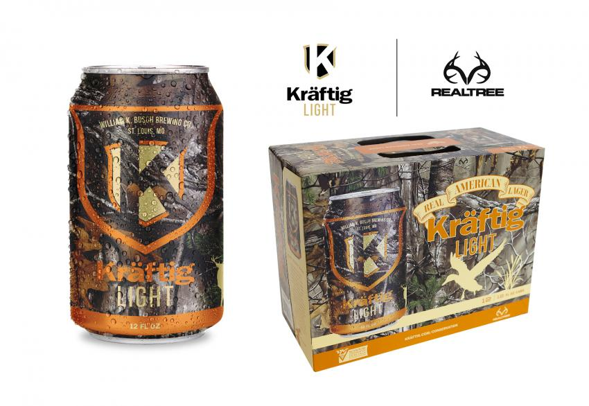 Kraftig light in Realtree Xtra camo 2018