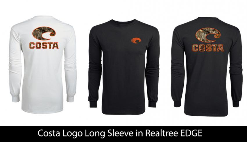 Costa Logo Long Sleeve in Realtree EDGE | Realtree B2B