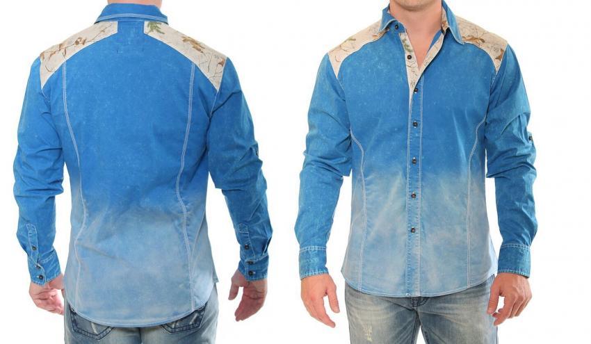 86434a535f184 New Realtree Men's Denim Button-Up Shirts | Realtree B2B