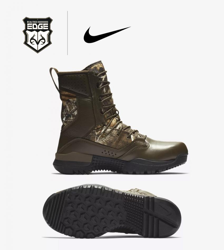 Nike SFB field 2 GTX Realtree EDGE Camo Boot Side