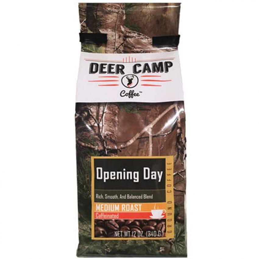 Realtree ground coffe by deer camp coffee - opening day