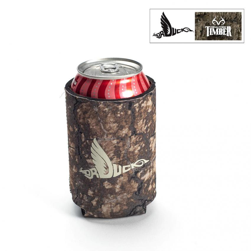 Dr. Duck Realtree Timber Can Coozie
