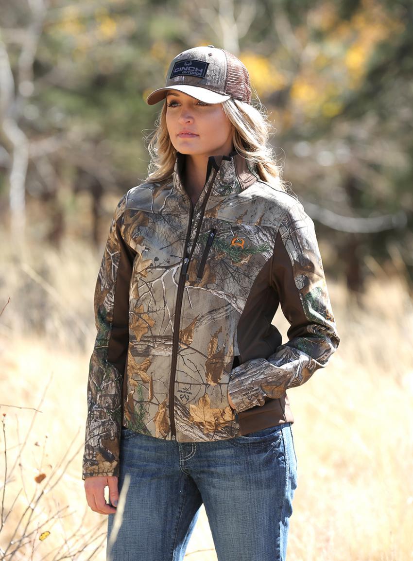 Realtree camo jackets for women