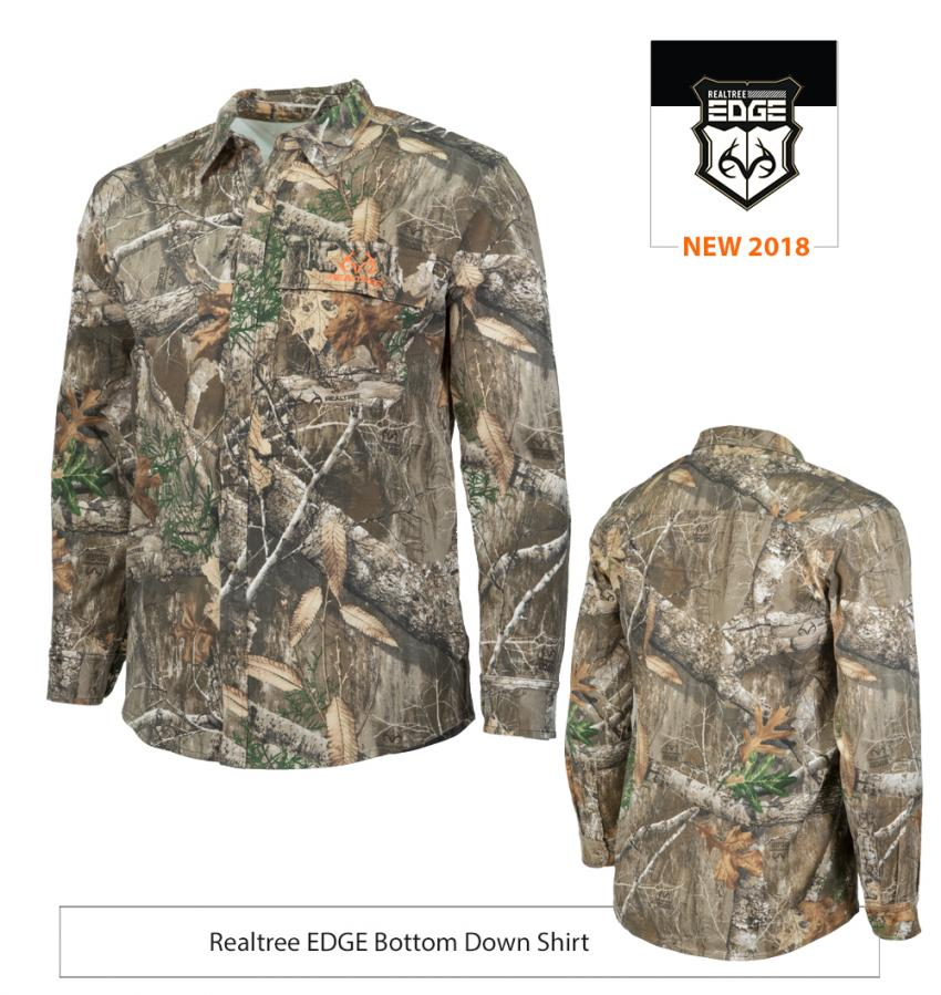Realtree EDGE Bottom Down Shirt | Realtree EDGE