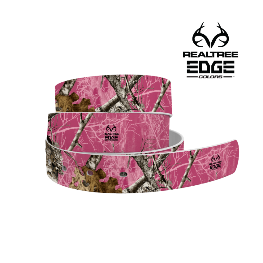 Realtree Edge Pink Color 4C Belt