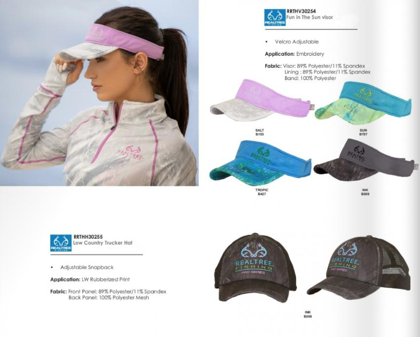 Realtree Fishing Visor Hats for Women | Fall 2019 Collection