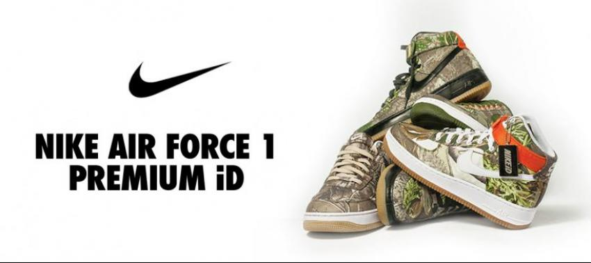 Nikeid Air1 in Realtree