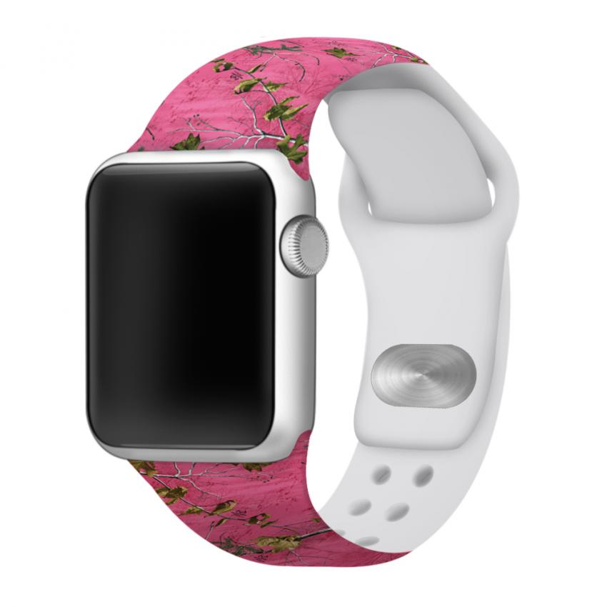 Realtree pink camo Affinity apple watch bands