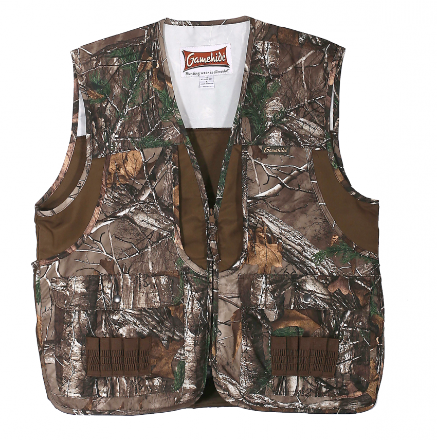 Realtree small game hunting vests