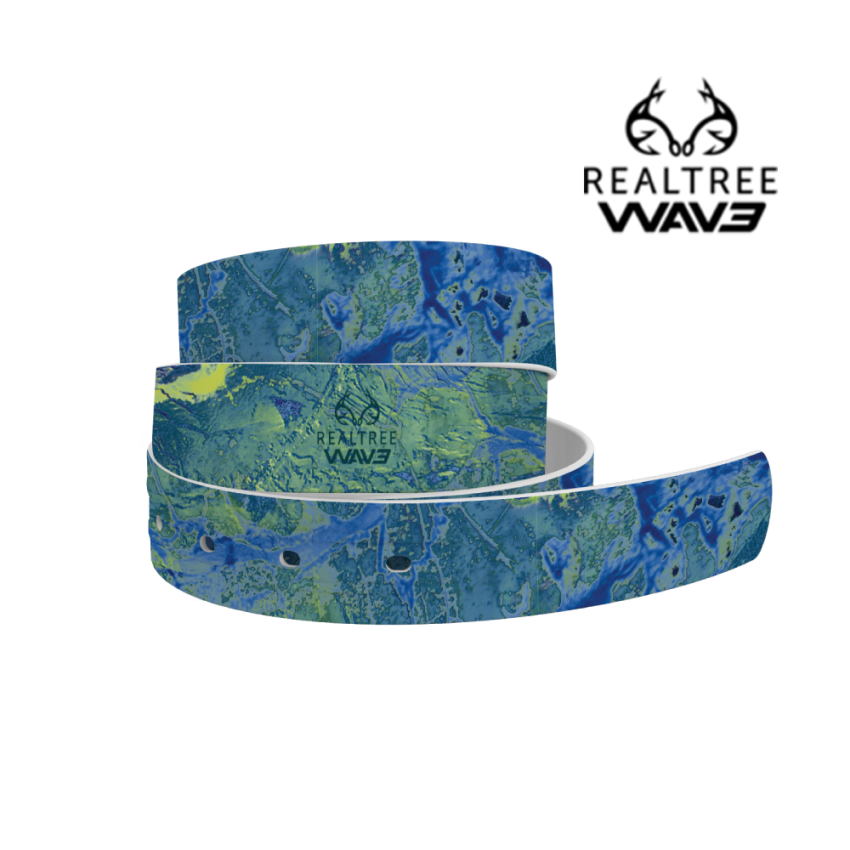 Realtree Wave camo 4c belt