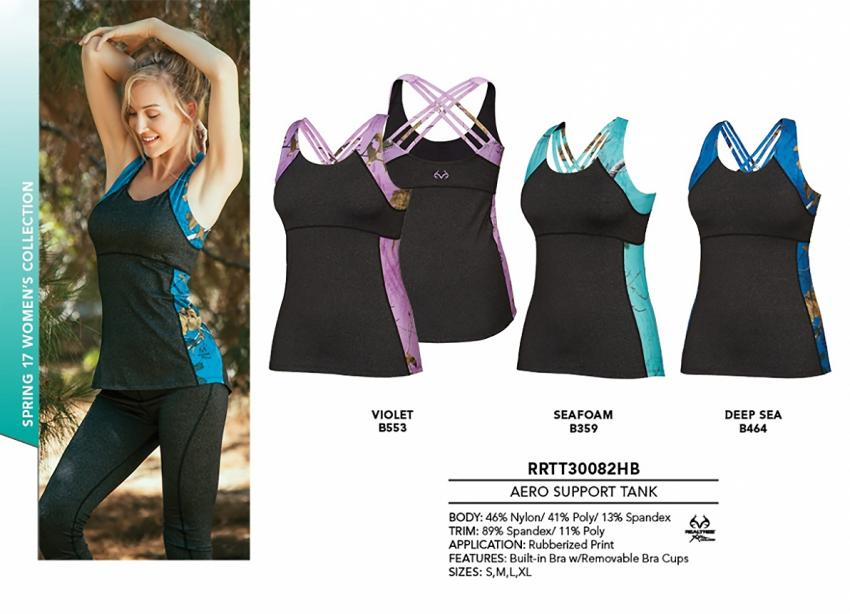 Realtree women's Activewear Support Tank | Realtree B2B