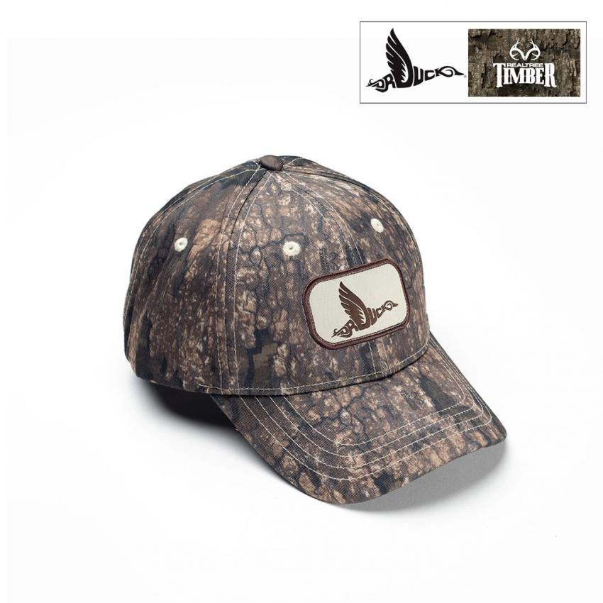 Dr. Duck Realtree Timber Solid Body Hat