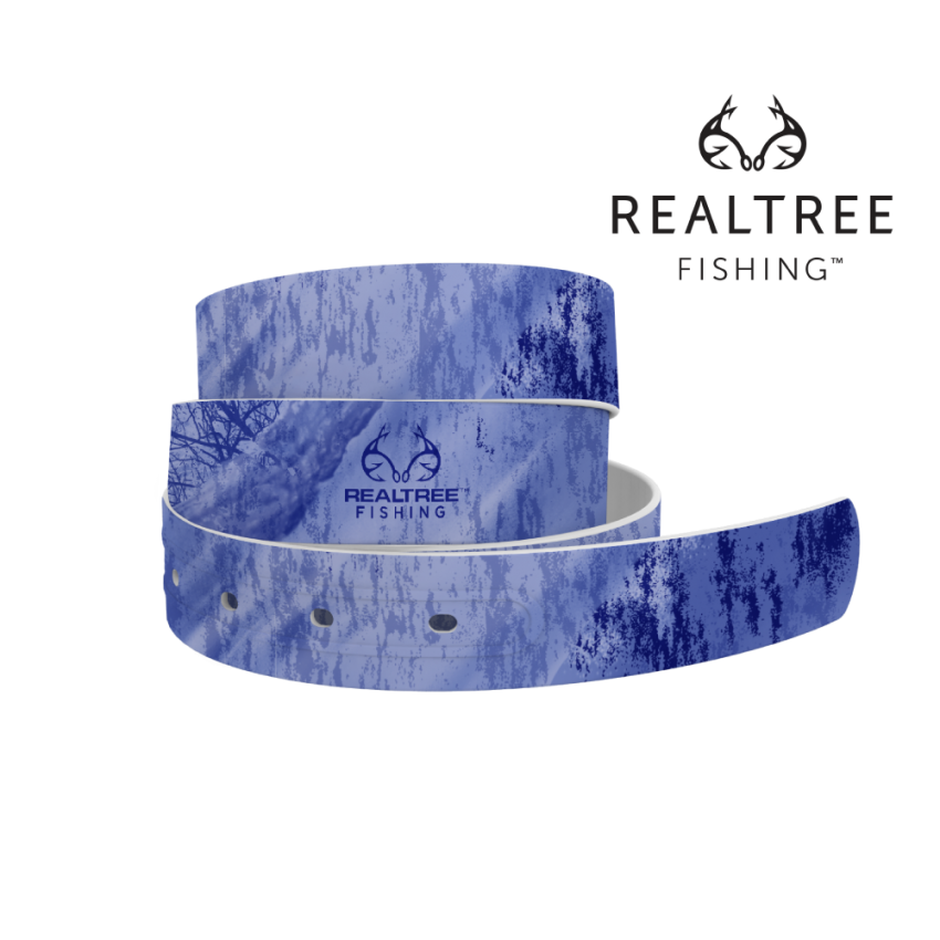 Realtree Fishing Purple Camo 4C Belt