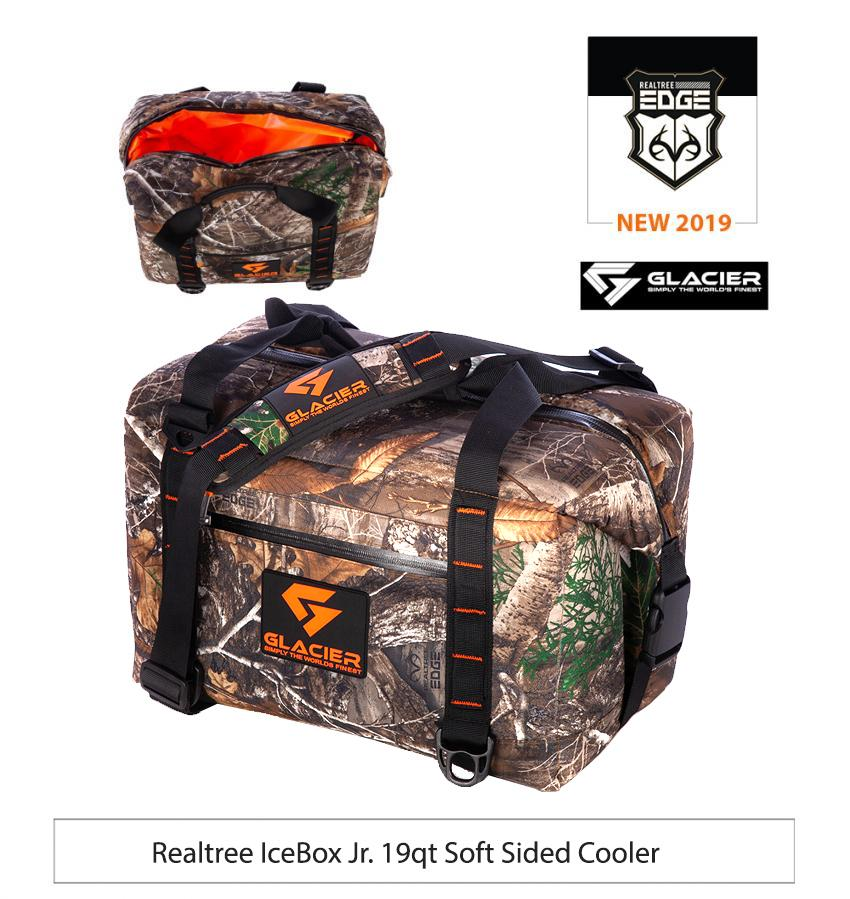 Glacier Cooler Realtree EDGE 2019 - Realtree IceBox Jr. 19qt Soft Sided Cooler
