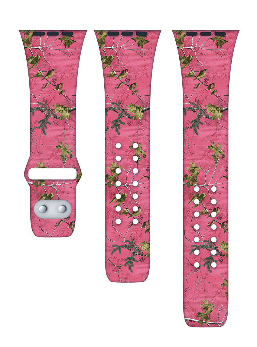 Realtree pink camo Affinity apple watch bands 2019