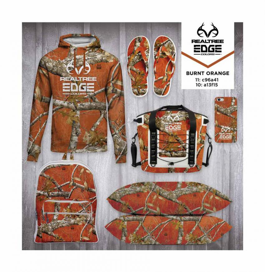 Realtree EDGE® Colors  - Burnt Orange Camo