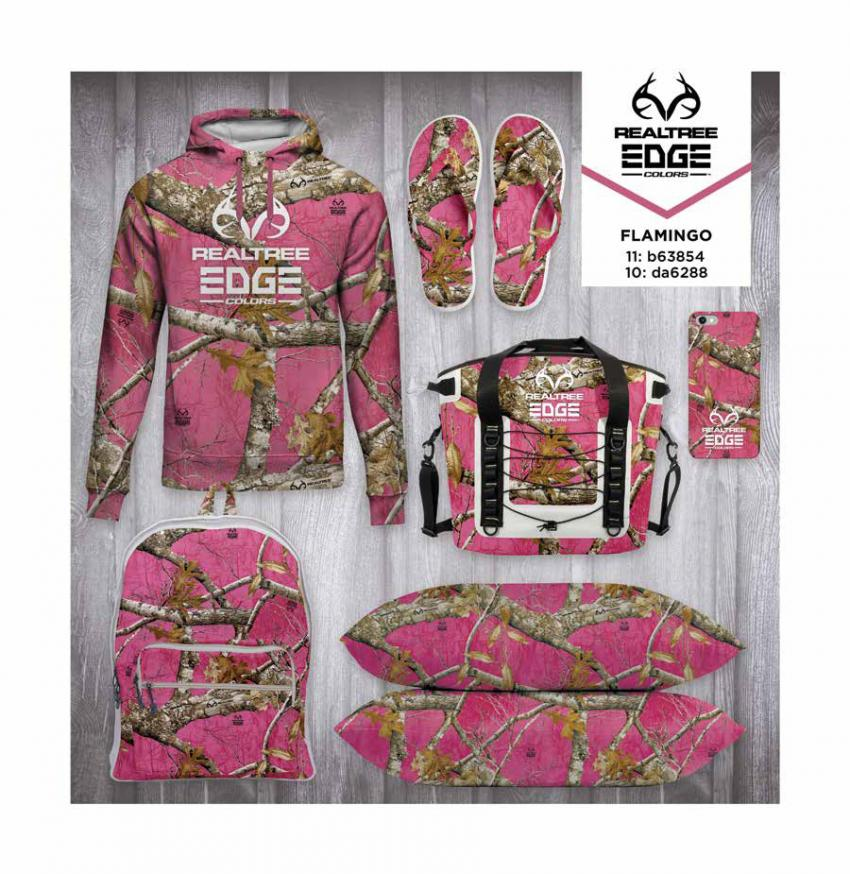 Realtree EDGE® Colors  - Flamingo Camo