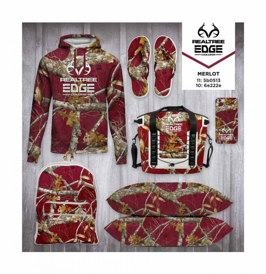 Realtree EDGE® Colors  - Merlot Camo