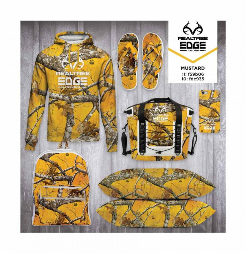 Realtree EDGE® Colors  - Mustard Camo