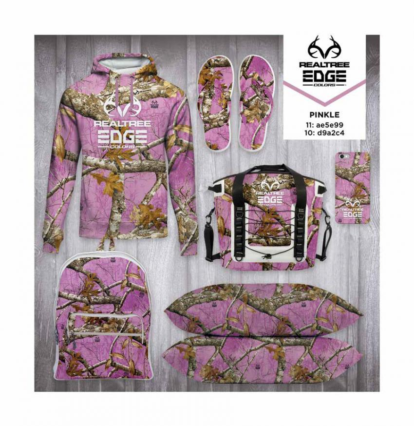 Realtree EDGE® Colors  - Pinkle Camo