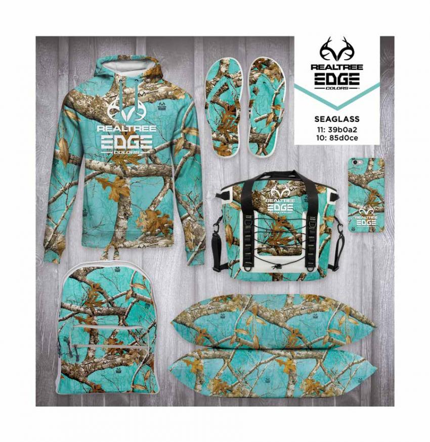 Realtree EDGE Colors  - Seaglass Camo