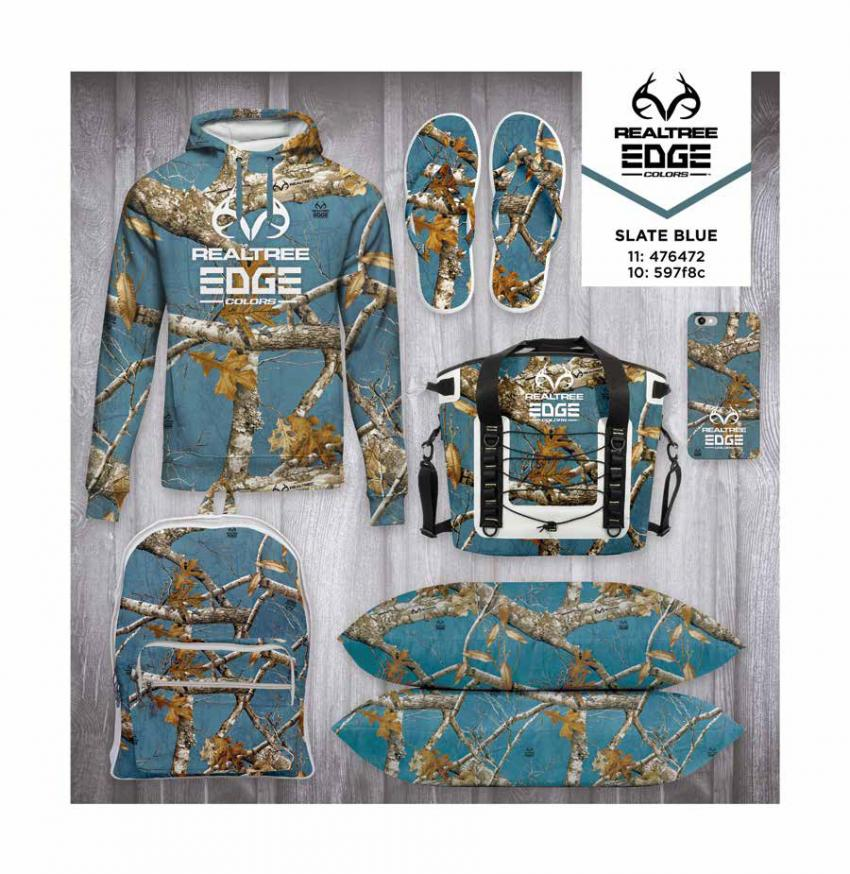 Realtree EDGE® Colors  - Slate Blue Camo