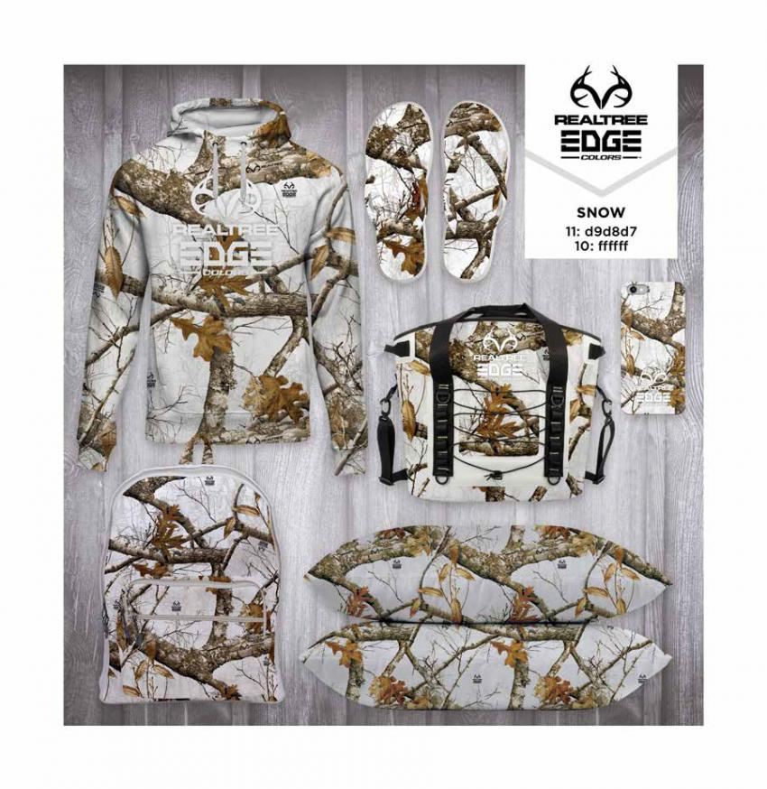 Realtree EDGE® Colors  - Snow Camo