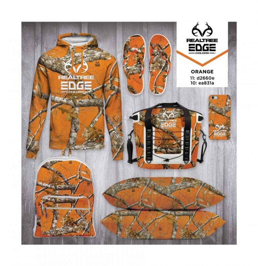 Realtree EDGE® Colors  - Orange Camo