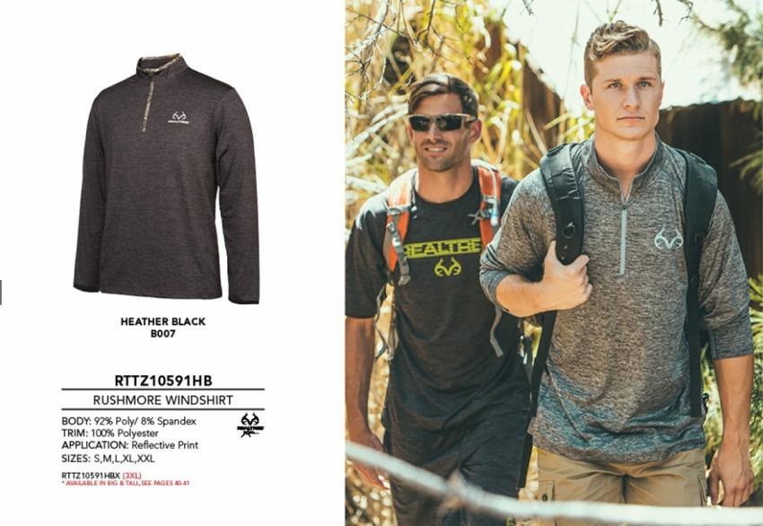 Realtree men's Activewear rushmore windshirt | Realtree B2B