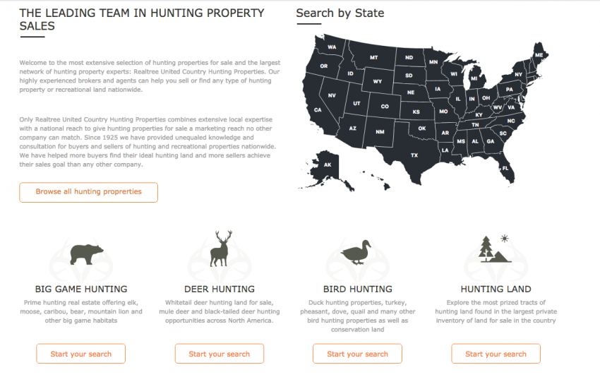 Realtree UC Hunting Properties - The Leading Team Hunting Property Sales